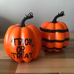 New! Halloween Foam Pumpkin Set